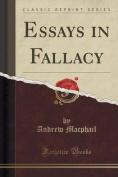 Essays in Fallacy
