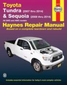 Toyota Tundra (2007 Thru 2014) & Sequoia (2008 Thru 2014)