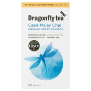Dragonfly Tea Organic Cape Malay Rooibos Chai (20) - Pack of 2