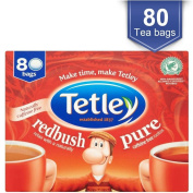 Tetley Redbush Tea Bags (80) - Pack of 2