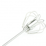 Stainless Steel Manual Self Turning Miracle Push Egg Beater Faster Speed Kitchen Tool