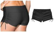 Fortuning's JDS® Solid swimming diving bikini bottom swimwear shorts for girls & ladies