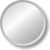 Regency Round Frameless Mirror Size