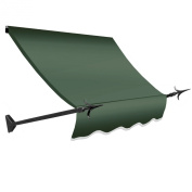 Awntech 3m New Orleans Awning, 110cm Height by 60cm Diameter, Sage
