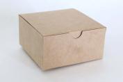 Kraft Favour or Gift Box 4 X 4 X 2 | 12 Ct