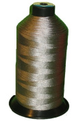Item4ever® Grey Grey Bonded Nylon Sewing Thread #69 T70 1500 Yard for Outdoor, Leather, Upholstery
