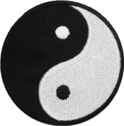 Yin Yang Tao Dao Rainbow Chinese DIY Applique Embroidered Sew Iron on Patch YY-03
