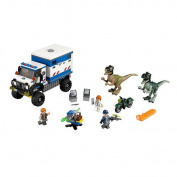 block Jurassic World Raptor Rampage 75917