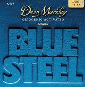 Dean Markley BLUE STEEL 2034 light Acoustic Guitar Strings 11-52