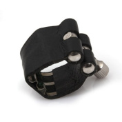 DN Leather with Reed Ligature For Bb Saxophone Mouthpiece