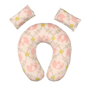 Travel Pillow with Matching Seat Belt Cover