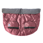 7 A.M. ENFANT Duo Double Stroller Blanket, Metallic Lilac