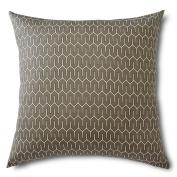 Creative 100% Cotton Geometric Euro Sham, 70cm By 70cm