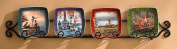 Kids At Play Mini Plates by Terry Redlin