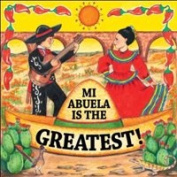 """Abuela Is The Greatest!"" Decorative Wall Tile Mexican Gift Idea for Grandma"