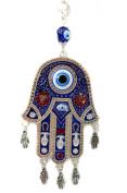 Blue Evil Eye Hamsa Protection Hanging Decoration Ornament