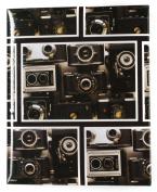 Pinnacle 200 Pocket 10cm -by-15cm Vintage Camera Album, Black