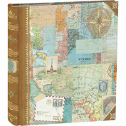 Punch Studio World Atlas Decorative Photo Album