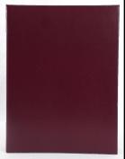 Pinnacle Ring Bound Album, 10cm by 15cm , 2 Photos Per page, Burgundy