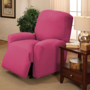 Stretch Jersey Recliner Slipcover, Pink