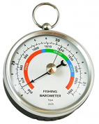 Ambient Weather DHR70B-STAINLESS Handheld Fishing Barometer