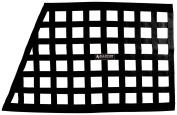 Allstar ALL10288 Black 46cm High x 70cm Wide x 60cm Wide Border Style Mount Oblong Ribbon Window Net