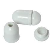 Cord Condenser, 2 Condensers in Pkg Cream