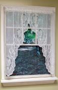 Curtain Chic Fairmount Swag, 140cm by 100cm , White