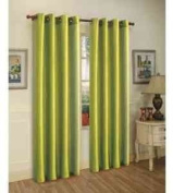 TWO panels BLACKOUT LIME GREEN grommet FAUX SILK window curtain lined ENERGY SAVING 38 WIDE X 210cm LENGTH EACH PANEL BLACK OUT TWO PANELS HEAVY THICK panels FOAM