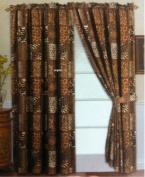 4 Piece Curtain Set