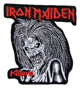 IRON MAIDEN Embroidered Patch Iron on Rock music band