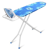 YBMHome 2313 4-Leg Ironing Board & Padded Cover With Steel Mesh Top