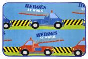 Heritage Kids Rescue Heroes Floor Rug, 80cm x 100cm
