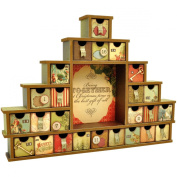 Kaisercraft Beyond The Page MDF Shadow Box with Drawers Advent Calendar, 14.5 by 30cm by 5.1cm