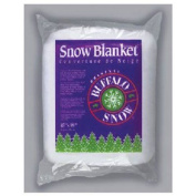 BUFFALO BATT & FELT CB1166 Snow Blanket for Christmas Decoration, 110cm by 250cm
