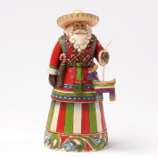 Enesco Jim Shore Heartwood Creek Mexican Santa Figurine, 18cm