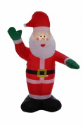 Homegear 2.4m Christmas Inflatable Santa Claus
