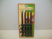 Good Old Values Steak Knife Plastic Carded 4 Pc.