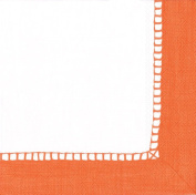 Entertaining with Caspari Linen Coral, Cocktail Napkin, Pack of 20