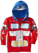 Optimus Prime Transformers Toddler Zip Up Costume/Mask Hoodie Hooded Sweatshirt