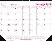Brownline 2013 Monthly Desk Pad Calendar, January - December, 60cm x 43cm