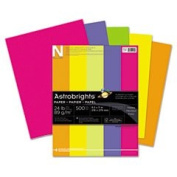 (3 Pack Value Bundle) WAU21289 Astrobrights Coloured Paper, 11kg, 8-1/2 x 11, Assorted, 500 Sheets/Ream