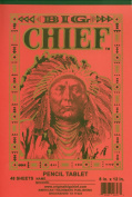 Big Chief Writing Tablet, Primary Grades, Springfield, 20cm X 30cm , 48 Sheets