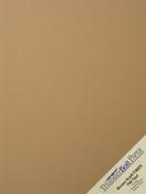 150 Brown Kraft Fibre 70# Text Paper Sheets - 22cm X 28cm (22cm X 28cm ) Standard Letter|Flyer Size - Rich Earthy Colour with Natural Fibres - 32kg/pound Paper Weight - Smooth Finish