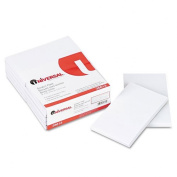 Universal Products - Universal - Scratch Pads, Unruled, 3 x 5, White, 12 100-Sheet Pads/Pack - Sold As 1 Pack - Great for the home or office-anywhere you need to jot down a note. - Basic plain white paper, gummed top. -