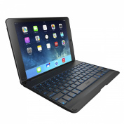 ZAGG Folio Case with Backlit Bluetooth Keyboard for iPad Air-Black