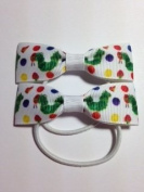 Beautiful Handwade in Wales Childrens Book Inspired Hair Bows Hairbow Pony Tail Ponio