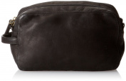 Derek Alexander Two Top Zip Travel Kit, Black, One Size