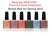*NEW* 2015 Colours For CND Shellac The Flora & Fauna Collection UV Gel Soak Off