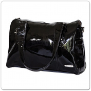 Vanchi Soho Boxy Black Changing Bag